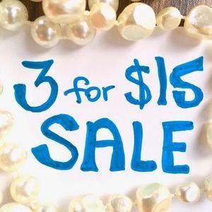 ⭐️ 3 for $15 ⭐️ Vintage Jewelry Bundle Sale